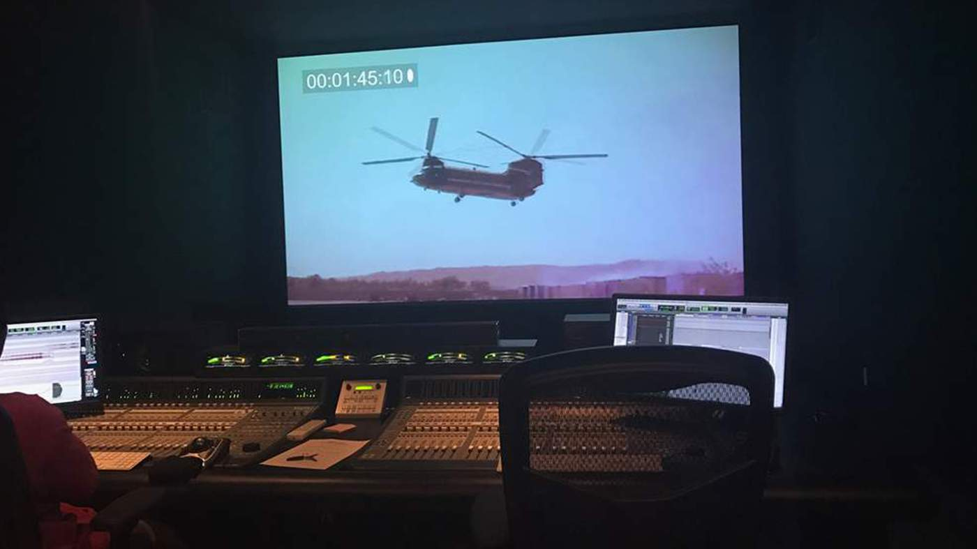 Michael Huang Masters the 5.1 Sound Mix in a Production Theater